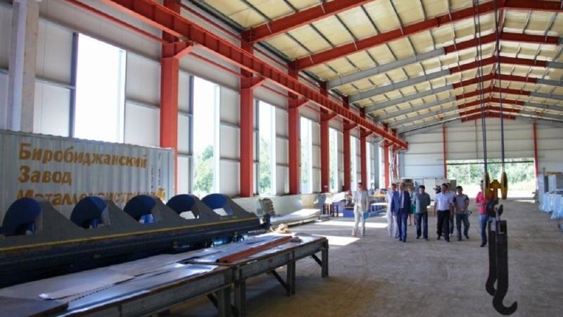 В ЕАО строят ЗМК мощностью 30 тыс. т металлоконструкций в год