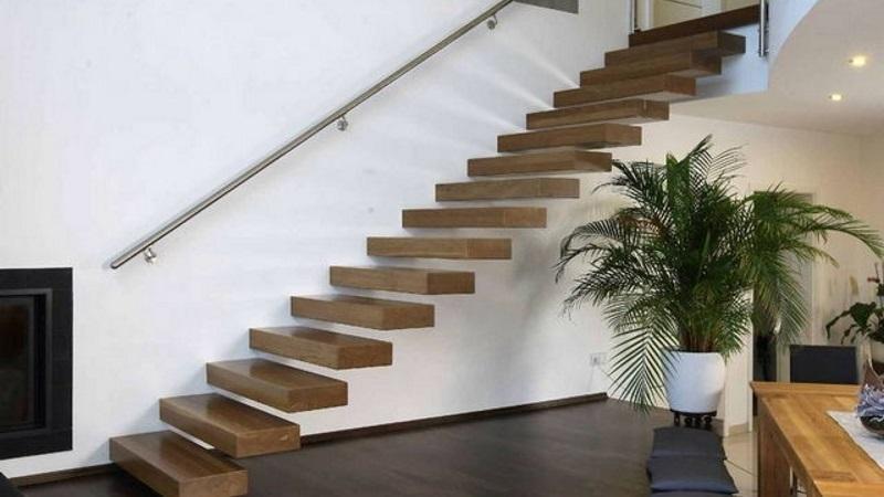 Особенности конструкции консольной лестницы